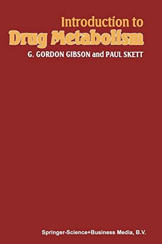 9780412263903: Introduction to Drug Metabolism
