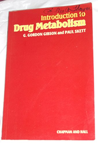 9780412264009: Introduction to Drug Metabolism