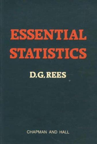 9780412264405: Essential Statistics