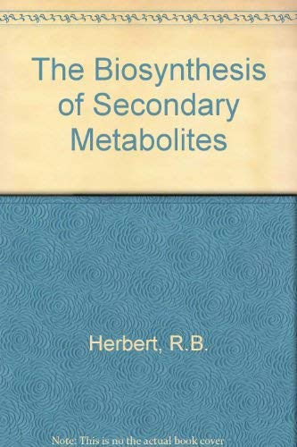9780412275401: Biosynthesis of Secondary Metabolites