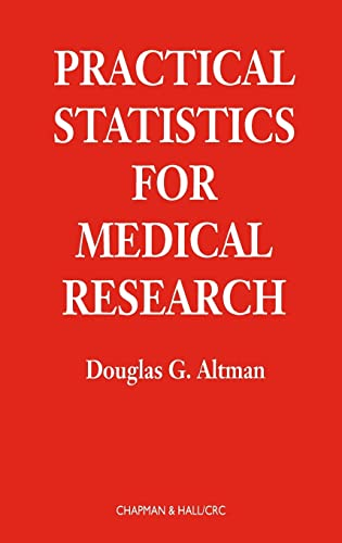 9780412276309: Practical Statistics for Medical Research