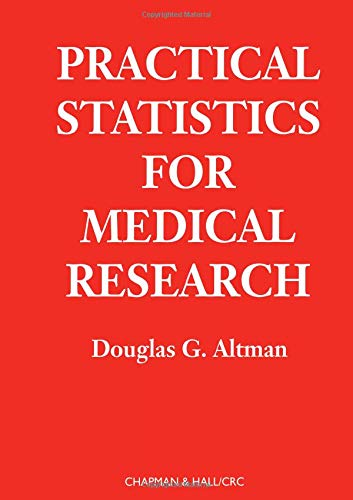 9780412276309: Practical Statistics for Medical Research (Chapman & Hall/CRC Texts in Statistical Science)