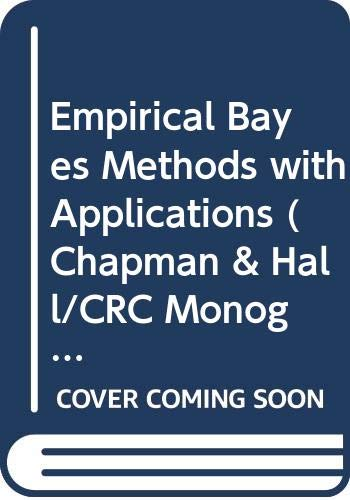 9780412277603: Empirical Bayes Methods with Applications (Chapman & Hall/CRC Monographs on Statistics & Applied Probability)