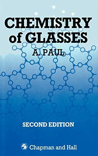 9780412278204: Chemistry of Glasses