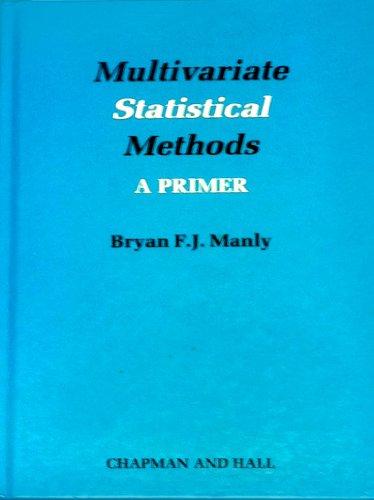 9780412286100: Multivariate Statistical Methods : A Primer