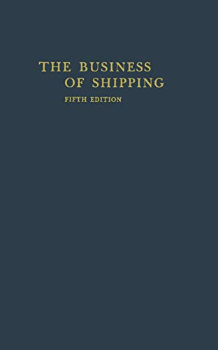 9780412288203: The Business of Shipping