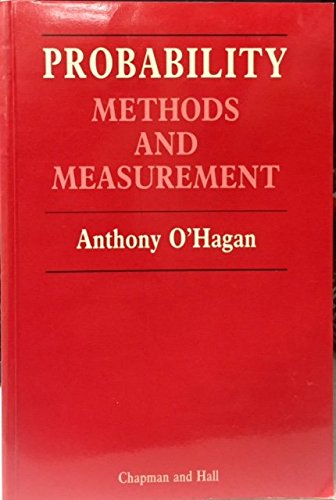 9780412295409: Probability Methods and Measurement