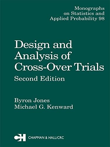 9780412300004: Design and Analysis of Cross-Over Trials (Chapman & Hall/CRC Monographs on Statistics & Applied Probability)