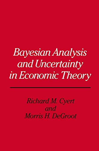 9780412305306: Bayesian Analysis and Uncertainty in Economic Theory