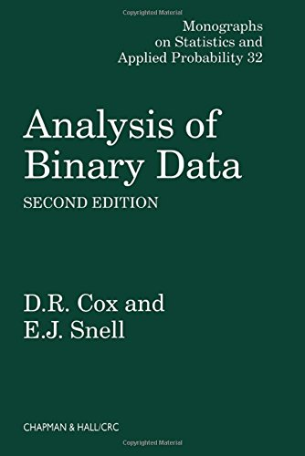 9780412306204: Analysis of Binary Data, Second Edition (Chapman & Hall/CRC Monographs on Statistics & Applied Probability)