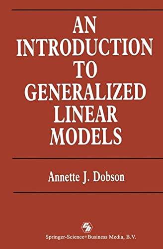 9780412311000: Introduction Generalized Linear Model ED2 (Chapman & Hall Statistics Text)