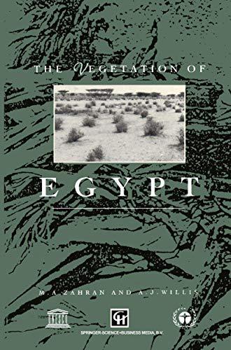 9780412315107: Vegetation of Egypt