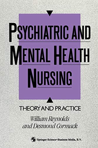 9780412316104: Psychiatric and Mental Health Nursing: Theory and practice