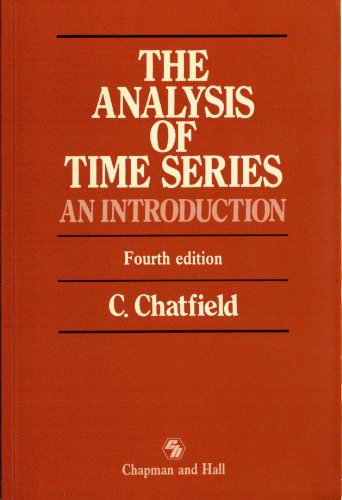 9780412318207: The Analysis of Time Series: An Introduction, Sixth Edition (Chapman & Hall Statistics Text Series)