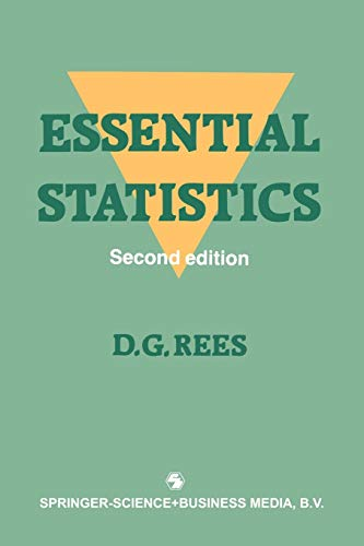 Essential Statistics, 2nd Edition: Rees, D.G.
