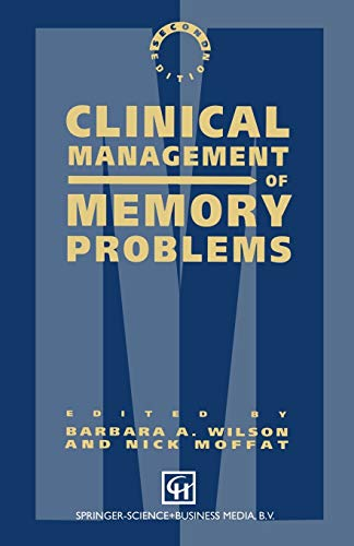 9780412322501: Clinical Management of Memory Problems
