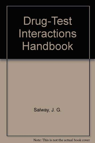 9780412323805: Drug-test Interactions Handbook