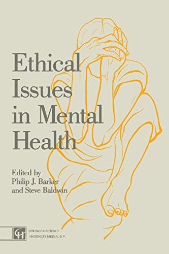 9780412329500: Ethical Issues in Mental Health