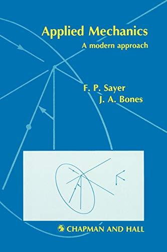 9780412341403: Applied Mechanics: A Modern Approach