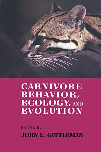 9780412343605: Carnivore Behavior, Ecology, and Evolution (Volume 1)