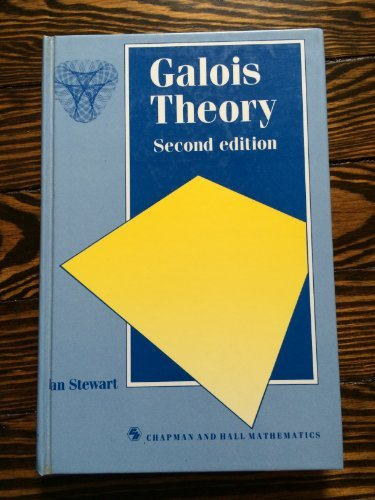 Galois Theory (Chapman & Hall Mathematics Series (Closed)) (0412345404) by Ian Stewart