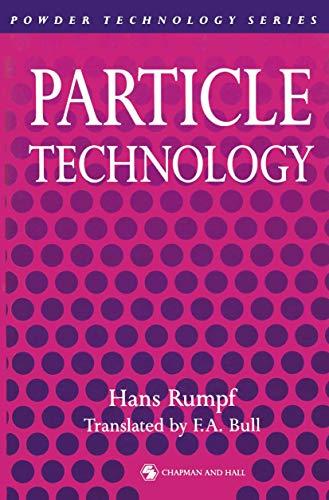 Particle Technology: Rumpf, Hans