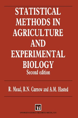 9780412354809: Statistical Methods in Agriculture and Experimental Biology, Second Edition