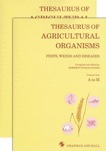 9780412372902: Thesaurus of Agricultural Organisms