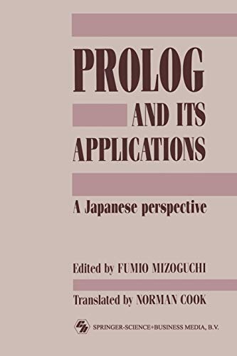 9780412377709: PROLOG and Its Applications: A Japanese Perspective (Chapman & Hall Computing)