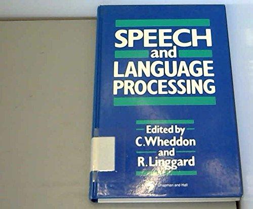 9780412378003: Speech and Language Processing