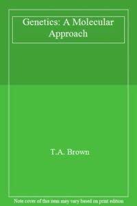 9780412379703: Genetics: A Molecular Approach