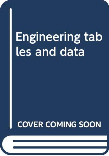 9780412389702: Engineering tables and data