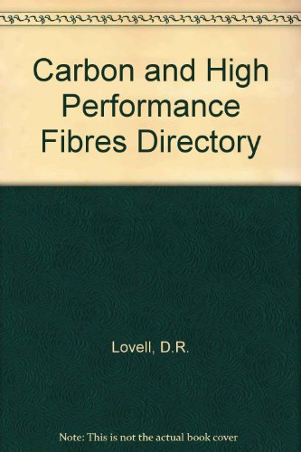 9780412396502: Carbon and high performance fibres directory.: 5th edition