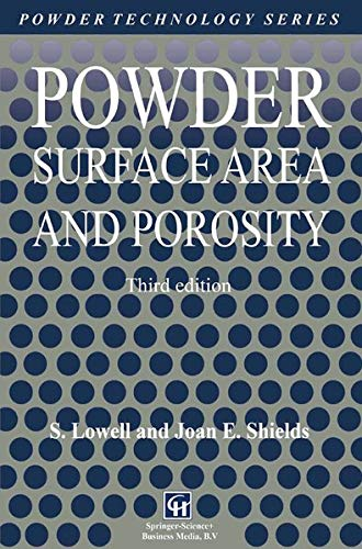 9780412396908: Powder Surface Area and Porosity (Particle Technology Series)