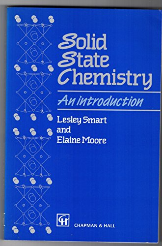 9780412400407: Solid State Chemistry: An Introduction