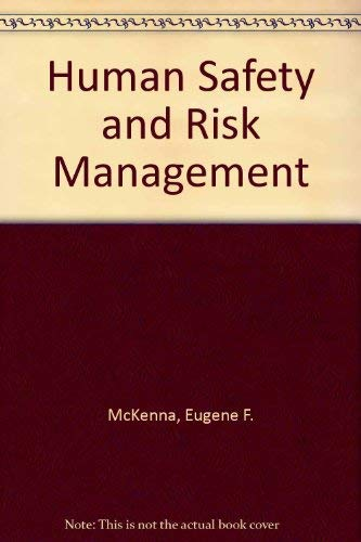9780412402500: Human Safety and Risk Management