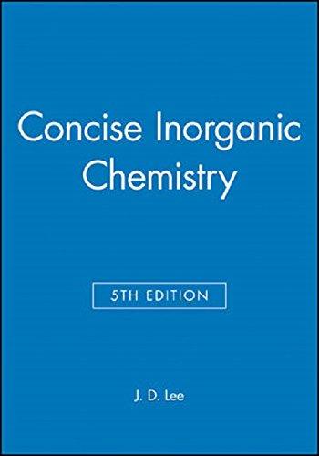 9780412402906: Concise Inorganic Chemistry