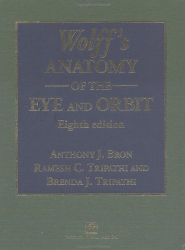 9780412410109: Wolff's Anatomy of the Eye and Orbit, 8Ed: Comparative Anatomy of the Visual Apparatus
