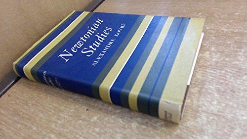 9780412423000: Newtonian Studies