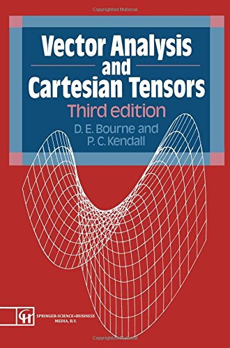 9780412427503: Vector Analysis and Cartesian Tensors 3rd Edition