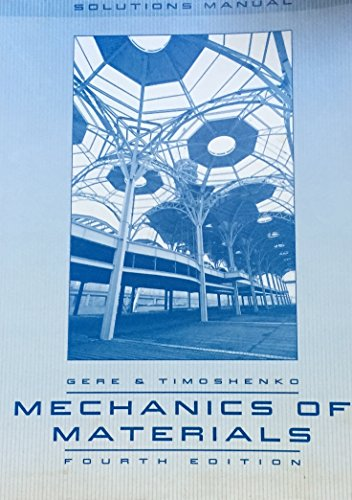 9780412430909: Mechanics of Materials: Solutions Manual