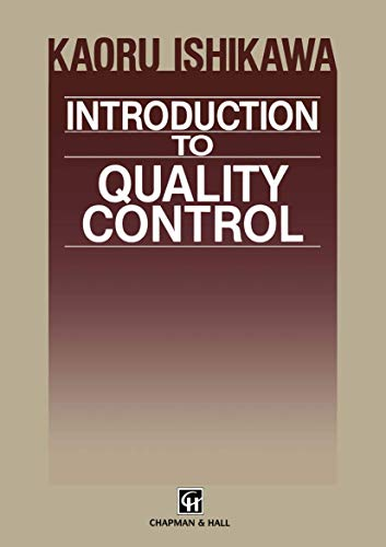 9780412435409: Introduction to Quality Control