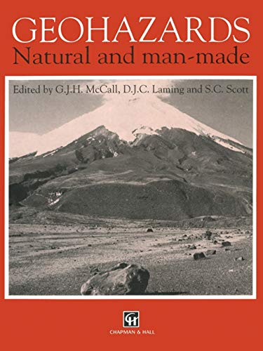 9780412439308: Geohazards: Natural and man-made (AGID Report Series)