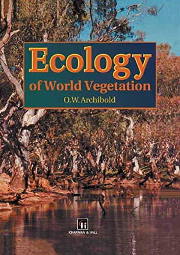 9780412442902: Ecology of World Vegetation
