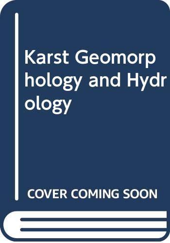 9780412445903: Karst Geomorphology and Hydrology