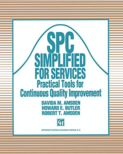 9780412447402: Spc Simplified for Services: Practical Tools for Continuous Quality Improvement