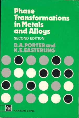 9780412450303: Phase Transformations in Metals and Alloys