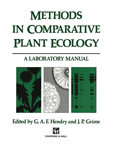 9780412462306: Methods in Comparative Plant Ecology: A laboratory manual
