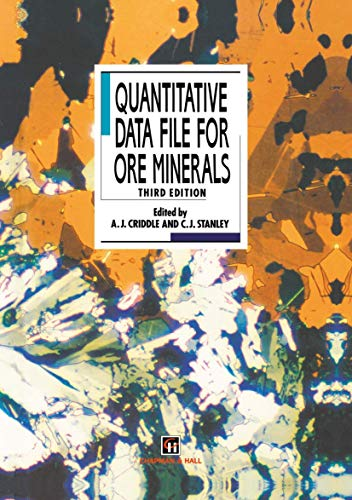 9780412467509: Quantitative Data File for Ore Minerals