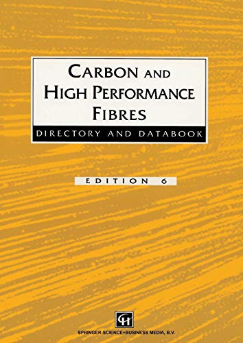 Carbon and High Performance Fibres Directory and Databook: Trevor Starr